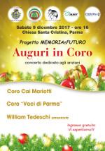 A Parma gli auguri si fanno in coro