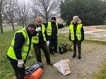 Modena Comitato Anziani Orti S.Agnese S.Damaso: laboratorio di restauro panchine