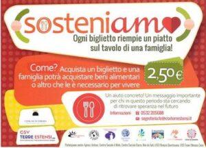 Ferrara: successo per la campagna SOSTENI-AMO