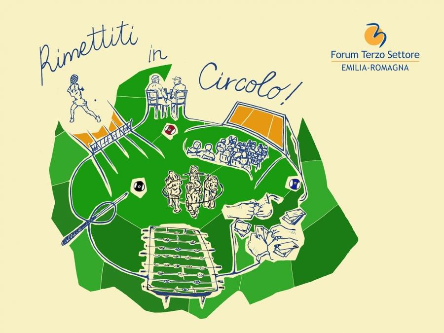 Rimettiti in Circolo!: parte la campagna del Forum Terzo Settore Emilia-Romagna