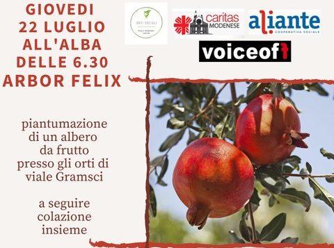 "A Modena c'è ""Terra felix Homo felix"""